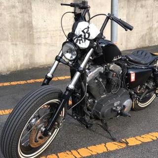 ハーレーダビッドソン(Harley Davidson)のXL1200 フォーティーエイト フルカスタム(車体)