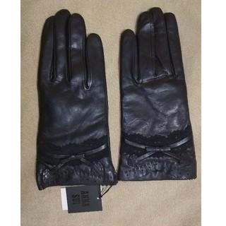 アナスイ(ANNA SUI)のアナスイ 羊革 手袋 タグ付 未使用 21cm(手袋)