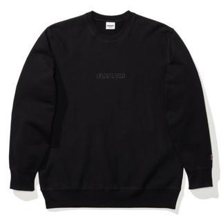 アンディフィーテッド(UNDEFEATED)のundefeated tonal logo crewneck 黒L(スウェット)