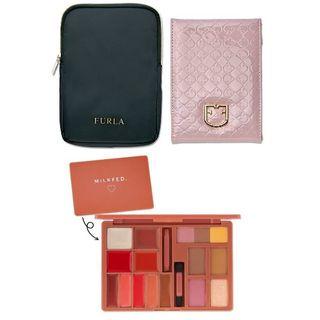 フルラ(Furla)の付録 mini ミルクフェドパレット + sweet フルラ ミラー&ケース(ファッション)