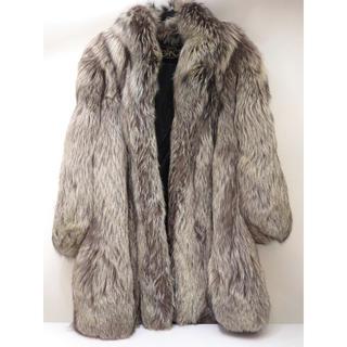 銀座グレース シルバーフォックス ロングコート 毛皮 ginza grace(毛皮/ファーコート)
