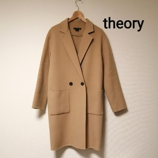 セオリー(theory)のtheory カシミヤ混(チェスターコート)