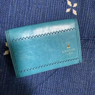 ランバンオンブルー(LANVIN en Bleu)のLANVIN en Bleu 名刺入れ カード入れ(名刺入れ/定期入れ)