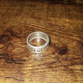 ドルチェアンドガッバーナ(DOLCE&GABBANA)のDOLCE&GABBANA ロゴ抜き シルバーリング(リング(指輪))