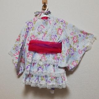 浴衣ドレス 3点セット 120サイズ