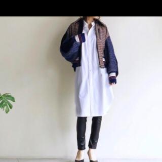 マメ(mame)の未使用 mame kurogouchi マメ ツイードジャケット ブルゾン(ブルゾン)