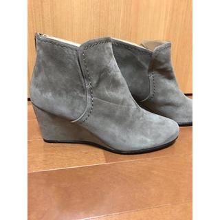 ニジュウサンク(23区)の23区⭐️新品ショートブーツMサイズ(ブーツ)