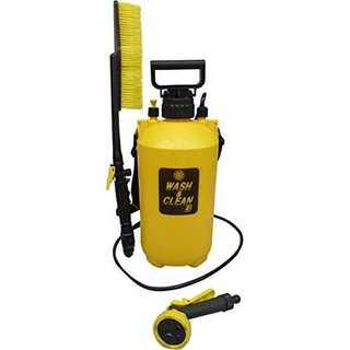 イエローマルハチ産業 お掃除用 ポンプ式 水圧クリーナー ウォッシュ & クリー(掃除機)