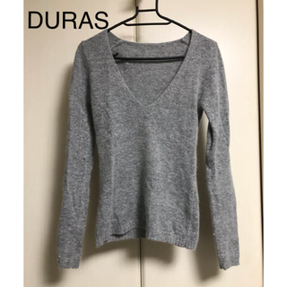 デュラス(DURAS)のDURAS / Vネックニット デュラス(ニット/セーター)