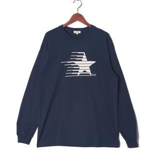 ナノユニバース(nano・universe)の[STANDING DOUBLE] ロンT Lサイズ ネイビー(Tシャツ/カットソー(七分/長袖))