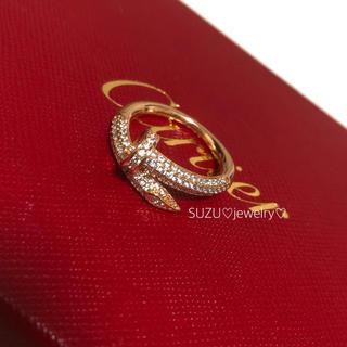 カルティエ(Cartier)の最高級ピンクゴールド✨釘リング❤️(リング(指輪))