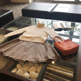 ボッテガヴェネタ(Bottega Veneta)のBOTTEGA VENETA トートバッグ ❤️ミラー付き❤️(ハンドバッグ)