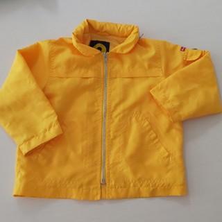 ムージョンジョン(mou jon jon)の【値下げ】Moujonjon ムージョンジョン 黄色95サイズジャンバー(ジャケット/上着)