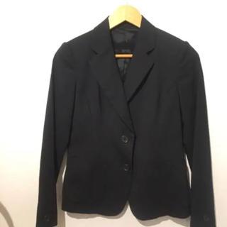 ユニクロ(UNIQLO)の㊀ユニクロ 無地 ジャケット ブラック #Cattleya(テーラードジャケット)