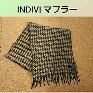 インディヴィ(INDIVI)のINDIVI  マフラー(マフラー/ショール)
