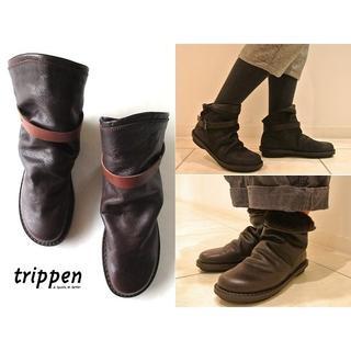 trippen - 未使用 定価59400円 トリッペン BOMB ムートンブーツ 38