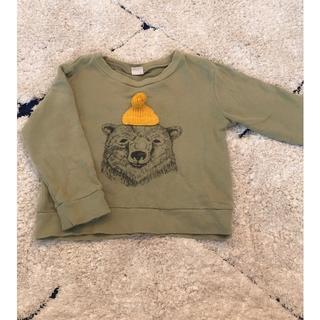 プティマイン(petit main)のpetit main❤︎トレーナー100(Tシャツ/カットソー)