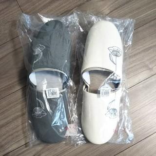 ベルメゾン - 新品 刺繍スリッパ 2足セット サイズ L