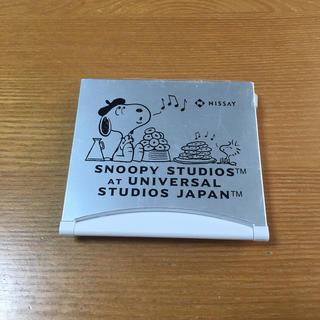 スヌーピー(SNOOPY)のニッセイ スヌーピー 折りたたみ式デジタル時計(置時計)