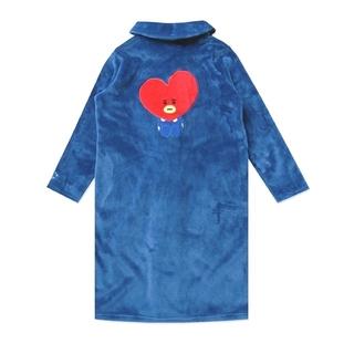 ボウダンショウネンダン(防弾少年団(BTS))の12/9まで❗❗新品 BT21公式 TATA 着る毛布 M 長袖 パジャマ(パジャマ)