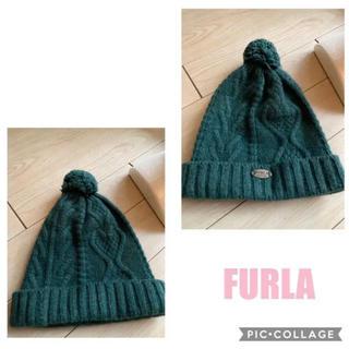 フルラ(Furla)のフルラ  ニット 帽子 ニット帽 FURLA アンゴラ ウール(ニット帽/ビーニー)