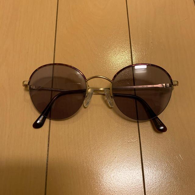 Emporio Armani(エンポリオアルマーニ)のエンポリオアルマーニ サングラス 丸 メンズのファッション小物(サングラス/メガネ)の商品写真