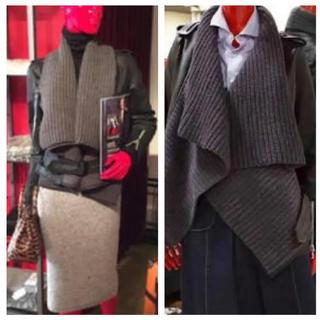DOUBLE STANDARD CLOTHING - 【美品】ダブルスタンダードのゴートレザーライダースジャケット