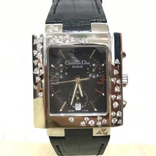 クリスチャンディオール(Christian Dior)の【美品】Dior ディオール リヴァクロノ スパークリング 腕時計(腕時計(アナログ))
