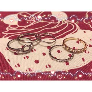 シマムラ(しまむら)のしまむら 指輪 リング(リング(指輪))