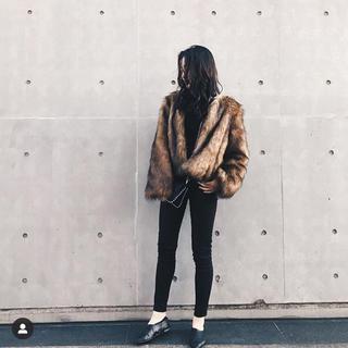 スライ(SLY)のfur coat(毛皮/ファーコート)