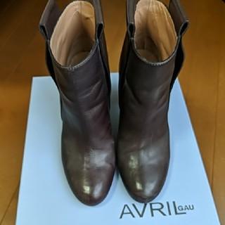アヴリルガウ(AVRIL GAU)のAVRIL GAUアヴリルゴウ ショートブーツ(ブーツ)