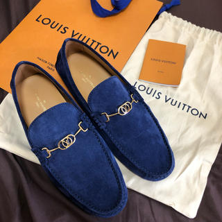 LOUIS VUITTON - 新品未使用 ルイヴィトン ローファー スニーカー ドライビングシューズ 革靴