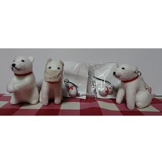 ソフトバンク(Softbank)のお父さん犬 キーホルダー&スマホピアス(ストラップ/イヤホンジャック)