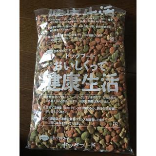 日本ペットフード - 送料込み ビタワン ドッグフード おいしくって健康生活 534g 国産 やみつき