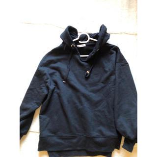 ナチュラルクチュール(natural couture)のブラック パーカー(パーカー)