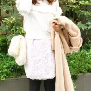 マーキュリーデュオ♡花柄レーススカート