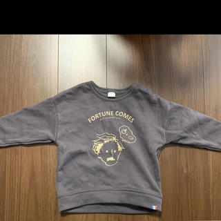 フタフタ(futafuta)のテータテート  おじさん トレーナー 95(Tシャツ/カットソー)