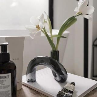 アクタス(ACTUS)の海外より 北欧花瓶 ガラス製花瓶 デコレーションオブジェ(花瓶)