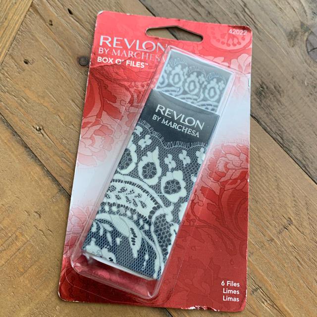 REVLON(レブロン)の新品 未使用 レブロン マルチケーザ ミニネイル ファイル コスメ/美容のネイル(マニキュア)の商品写真