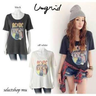 Ungrid - アングリッド♡Tシャツ