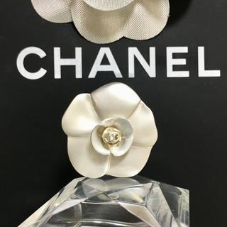 シャネル(CHANEL)の正規品 シャネル 指輪 カメリア ココマーク シルバー 花 フラワー リング 2(リング(指輪))