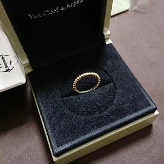 ヴァンクリーフアンドアーペル(Van Cleef & Arpels)のヴァンクリーフ&アーペル ペルレ 6号 K18(リング(指輪))