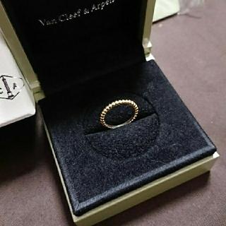 ヴァンクリーフアンドアーペル(Van Cleef & Arpels)の【専用】ヴァンクリーフ&アーペル ペルレ 6号 K18(リング(指輪))