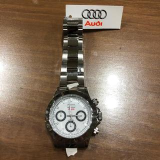 アウディ(AUDI)のAUDI腕時計札付き未使用品早い者勝ち一点物(腕時計(アナログ))