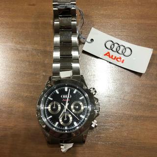 アウディ(AUDI)のAUDI腕時計未使用品札付きメンズ早い者勝ち一点物(腕時計(アナログ))
