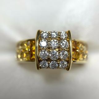 JEUNET サファイア ダイヤモンド リング(リング(指輪))