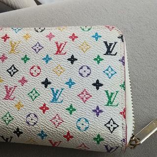 ルイヴィトン(LOUIS VUITTON)の美品 マルチカラー長財布(財布)