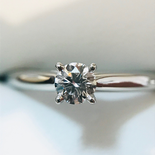カルティエ(Cartier)の24日まで❗️【カルティエ 】プラチナ950 ソリテール ダイヤ リング(リング(指輪))