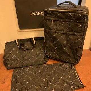 CHANEL - 正規品シャネルキャリーバッグ トラベルバッグ スーツケース  トランクケース旅行