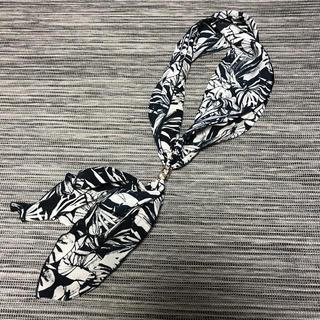 ジーナシス(JEANASIS)の*ジーナシス リング付き スカーフ*(バンダナ/スカーフ)